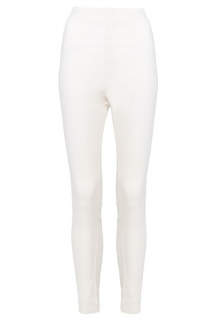 Parthenia Skinny Fit Pants - White