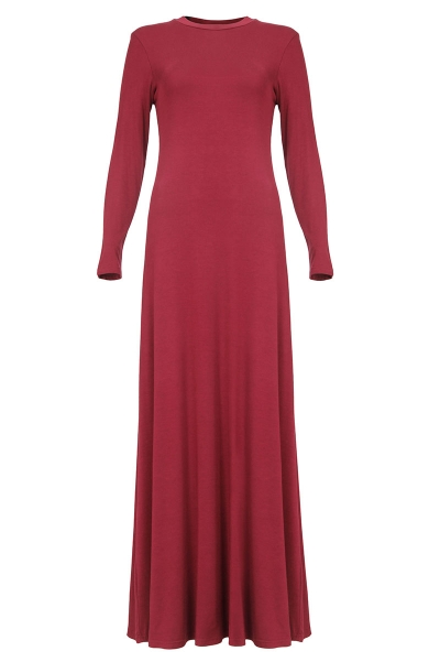 BASICS Sable Jersey Jubah Dress