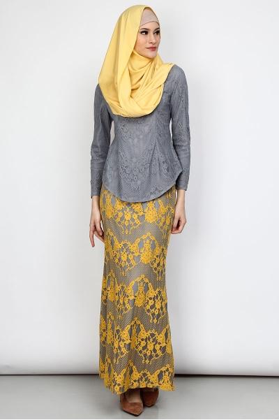 Durra Blouse & Skirt Set