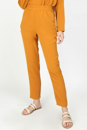 Leatrice Tapered Pants - Pumpkin