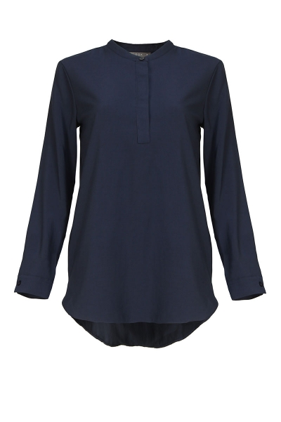 Haidence The Henley Popover Blouse