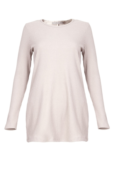 Raynell Knitted Rib Blouse