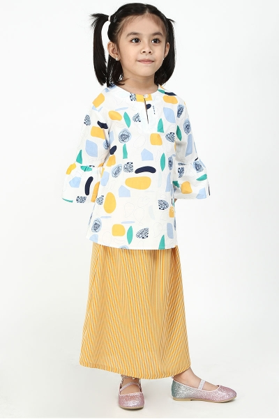 KIDS Canaida Bell Sleeve Blouse