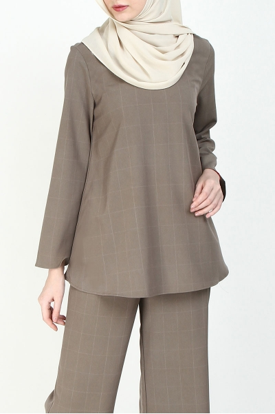 Manion Flared Blouse