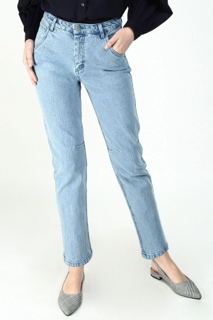 Akeela Tapered Jeans - Light Wash