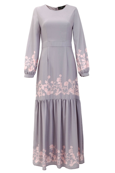 Florae Gathered Hem Dress