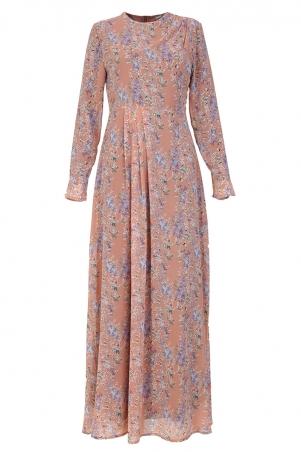 Tildah Decorative Pleat Dress
