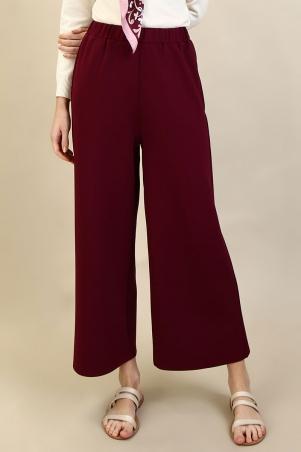PGB Taourirt Wide Legged Pants - Burgundy