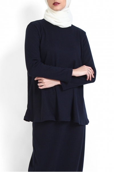 Gladin Knitted Rib Blouse