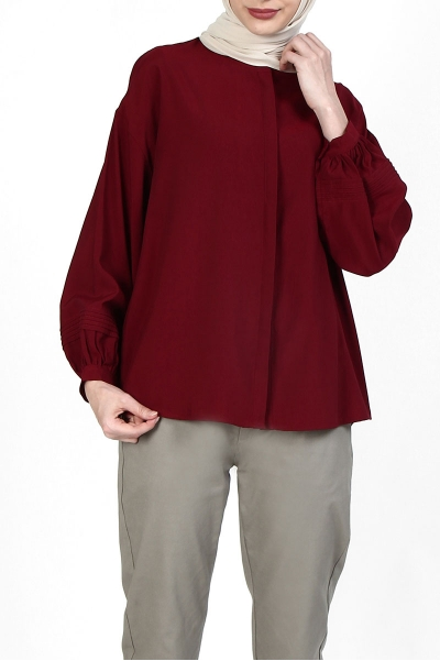 Masami  Front Button Blouse