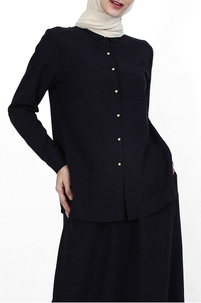 Tayma Front Button Shirt