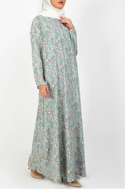 Ceyana High Neck Maxi Dress