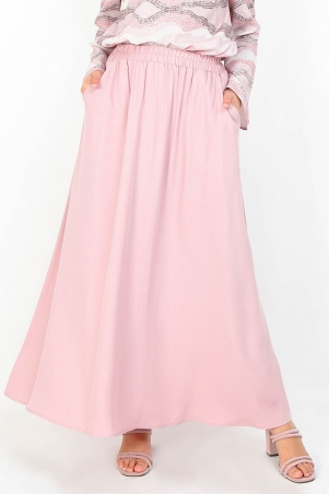 Janeva A-line Skirt - Dusty Pink