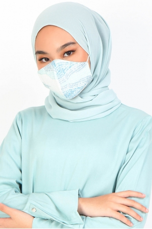 Baiti Face Mask Pack - Mint Print