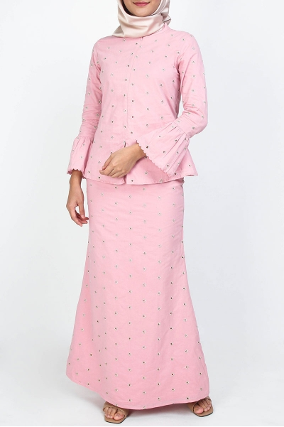 COTTON Naiya Blouse & Skirt