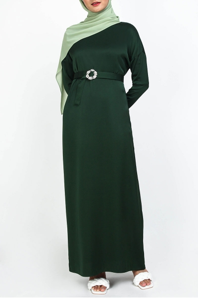 Kessa Drop Shoulder Maxi Dress