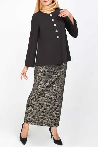 Cleva Blouse & Skirt