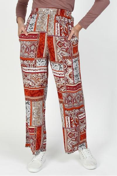 Sharmae Straight Cut Pants